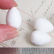 Spun Cotton Eggs