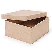 Square Paper Mache Box*