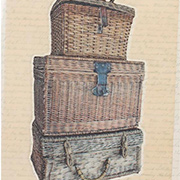 Architextures - Stacked Wicker Trunks