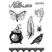 Spooky Clear Stamp Set
