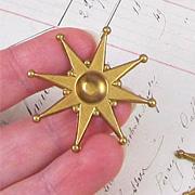 Fancy Brass Sun or Starburst*