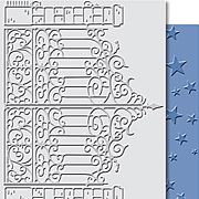 Iron Gate & Starry Night Embossing Folder Set