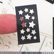 Tiny Stars Stencil Set