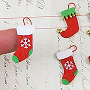 Mini Holiday Stockings Stickers