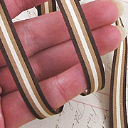 Mini Striped Grosgrain Ribbon