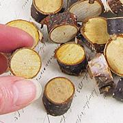 Mini Birch Tree Trunk Slabs