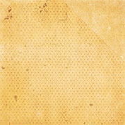 Double Dot Vintage Golden Sunflower Scrapbook Paper