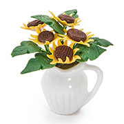 Handmade Sunflower Bouquet Centerpiece