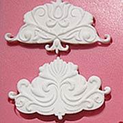 Silicone Mold - Symmetrical Ornaments*
