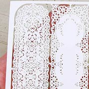 Dollhouse Laser-Cut Table Runners