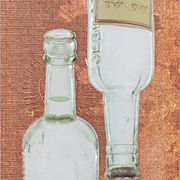 Architextures - Green Tinted Bottles