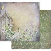 Tattered Garden Scrapbook Paper - Path