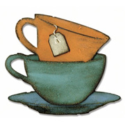 Tim Holtz Tea Time Teacup Die Set