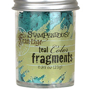 Opaque Color Fragments - Teal