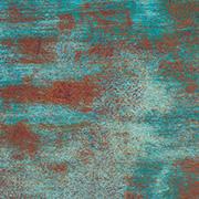 Oxidation Scrapbook Paper - Teal & Rust