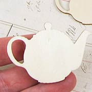 Wood Teapot Cut-Outs*