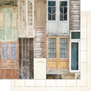 The Avenues Doors Scrapbook Paper