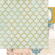 The Avenues Trellis Scrapbook Paper