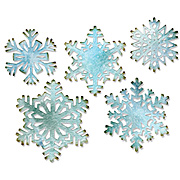 Tim Holtz Thinlits Die Set - 5 Paper Snowflakes