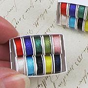 Mini Tray of Sewing Thread