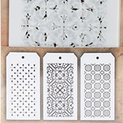 Tim Holtz MINI Stencils - Tiny Wallpaper Patterns