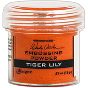 Embossing Powder - Tiger Lily