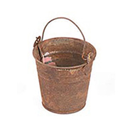Rusted Tin Bucket