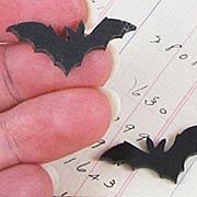 Acrylic Black Bat Cut-Outs*