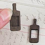 Mini Potion Bottle Masonite Charms*