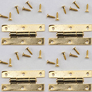 Tiny H Hinges - Set of 4