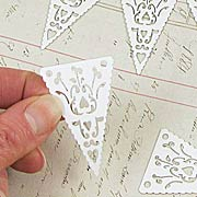 Mini Lacy Banner Flags*