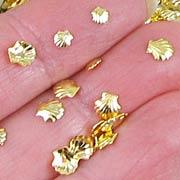 Tiny Metal Seashell Mix