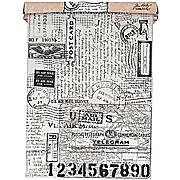 Tim Holtz Printed Tissue Roll - Postale