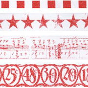 Tim Holtz - Tissue Tape Set - Merriment