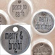 Tim Holtz Tidings Tokens