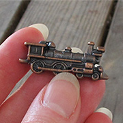 Copper Mini Steam Train Engine