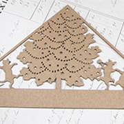 Animals Christmas Tree Attic Silhouette