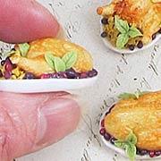 Roast Turkey with Stuffing on Platter