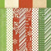 Twas the Night Before Christmas 6x6 Solids & Patterns Pad