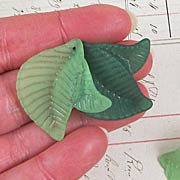 Large Twinsie Acrylic Leaves
