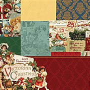 Victorian Christmas Paper Pack
