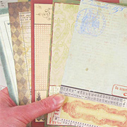 Vintage Journal Pages - Olde English