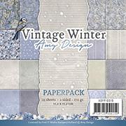 Vintage Winter 6x6 Paper Pad