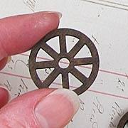 Small Masonite Wheels Set*