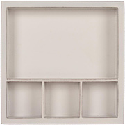 Solo Shadowbox Tray - White 6x6