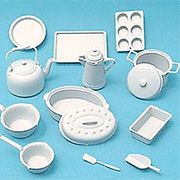 White Plastic Cookware Set