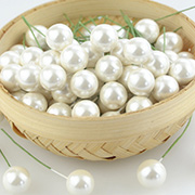 Large Pearl Stamen - White