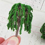 Tiny Green Willow Tree