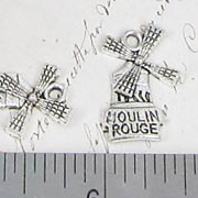 Moulin Rouge Windmill Charm or Pendant