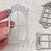 Petite Windows Die-Cut Chipboard